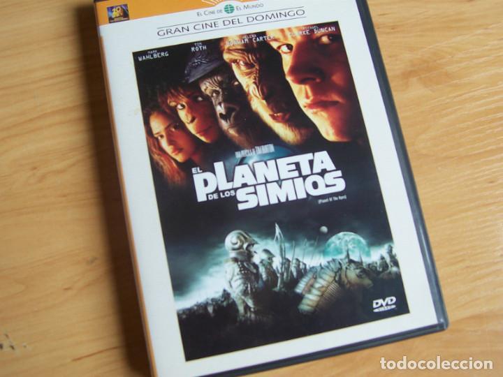 EL PLANETA DE LOS SIMIOS, DE TIM BURTON. PELICULA DVD (Cine - Películas - DVD)