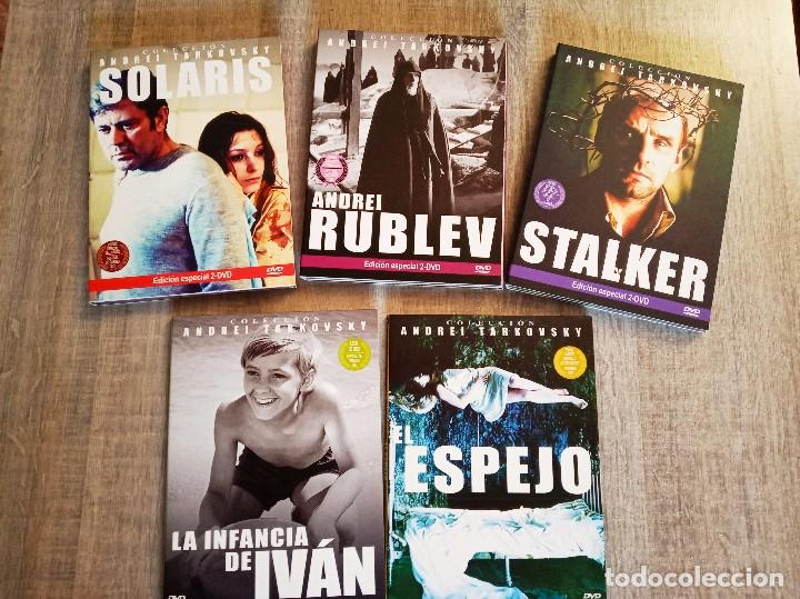 COLECCIÓN ANDREI TARKOVSKY - 5 PELÍCULAS EN 8 DVD'S (Cine - Películas - DVD)