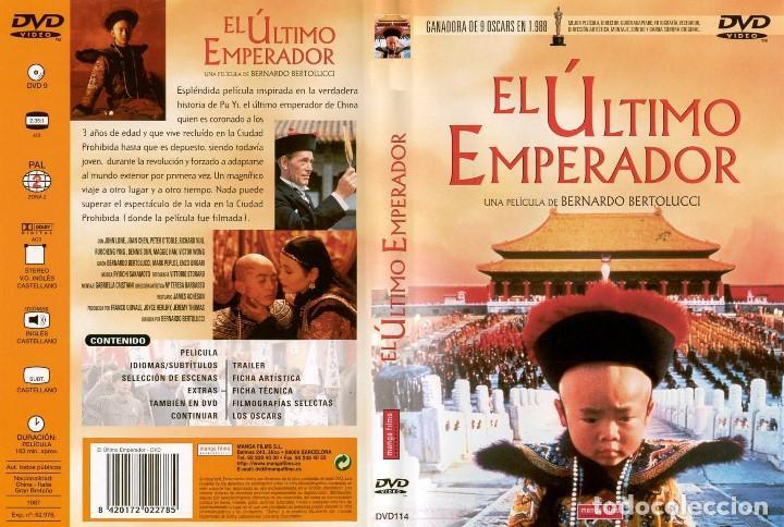 EL ÚLTIMO EMPERADOR - BERNARDO BERTOLUCCI (Cine - Películas - DVD)