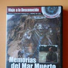 Cine: VIAJE A LO DESCONOCIDO. MEMORIAS DEL MAR MUERTO. Nº 8 - DIRIGIDO Y PRESENTADO POR F. JIMÉNEZ DEL OSO. Lote 195249856