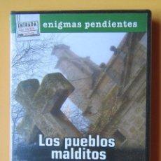 Cine: LOS PUEBLOS MALDITOS. TRADICIONES, SUCESOS INSÓLITOS Y LEYENDA NEGRA. COLECCIÓN ENIGMAS PENDIENTES, . Lote 195249857