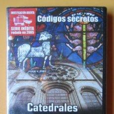 Cine: CATEDRALES Y TEMPLOS PAGANOS. DE EGIPTO AL CONOCIMIENTO DE LOS MAESTROS CÁTAROS. COLECCIÓN CÓDIGOS S. Lote 195249861
