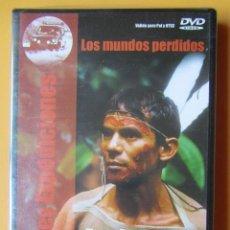Cine: AYAHUASCA, EN LOS LÍMITES DE LA MUERTE. COLECCIÓN GRANDES EXPEDICIONES. LOS MUNDOS PERDIDOS, Nº 4 - . Lote 195249866