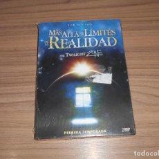 Cine: MAS ALLA DE LOS LIMITES DE LA REALIDAD TEMPORADA 1 2 DVD 360 MIN. THE TWILIGHT ZONE NUEVA PRECINTADA. Lote 195251341