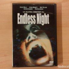 Cine: NOCHE SIN FIN (ENDLESS NIGHT) AGATHA CHRISTIE HAYLEY MILLS HYWEL BENNETT EDICIÓN REINO UNIDO. Lote 195252405