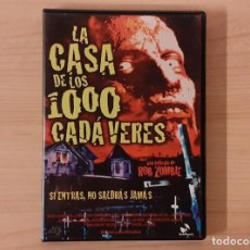 Cine: LA CASA DE LOS 1000 CADÁVERES (HOUSE OF 1000 CORPSES) ROB ZOMBIE SID HAIG KAREN BLACK. Lote 195253462