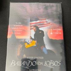 Cine: (PR29) BAILANDO CON LOBOS ( DVD NUEVO PRECINTADO ). Lote 195260972