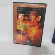 Cine: (DVS 24) MEDIANOCHE EN EL JARDÍN DEL BIEN Y DEL MAL ‐ DVD SEGUNDA MANO TAPA FINA. Lote 195261076