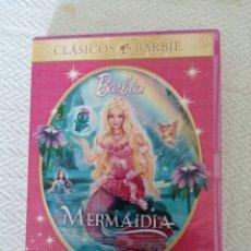 Cine: DVD-CLASICOS BARBIE. MERMAIDIA COLECCIÓN BARBIE.. Lote 195278905