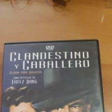 Cine: PELICULA CLASICA DVD CLANDESTINO Y CABALLERO, 1946. Lote 195284905