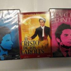 Cine: ANTONIO MOLINA, CAFÉ DE CHINITAS, EL PESCADOR DE COPLAS, EL CRISTO DE LOS FAROLES NUEVAS. Lote 195288110