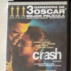 Cine: DVD CRASH. Lote 195315321