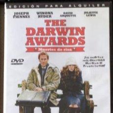 Cine: DVD THE DARWIN AWARS. Lote 195316296
