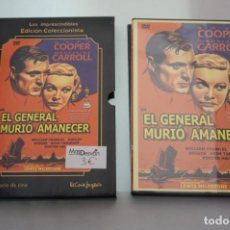 Cine: (3-B4) - 1 X DVD / EL GENERAL MURIO AL AMANECER / LEWIS MILESTONE. Lote 195330946