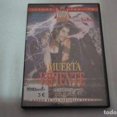 Cine: (3-B4) - 1 X DVD / LA MUERTA VIVIENTE / JEAN ROLLIN. Lote 195331165