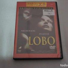 Cine: (3-B4) - 1 X DVD / LOBO - JACK NICHOLSON. Lote 195331381