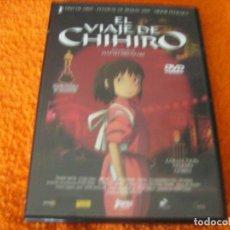 Cine: EL VIAJE DE CHIHIRO / UNA PELICULA DE HAYAO MIYAZAKI / DESCATALOGADA. Lote 195337692