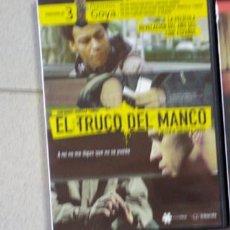 Cine: DVD EL TRUCO DEL MANCO. Lote 195343890