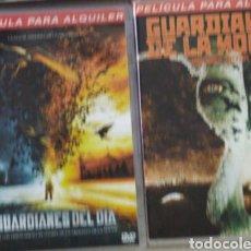 Cine: DVD GUARDIANES DEL DIA / GUARDIANES DE LA NOCHE. Lote 195343961
