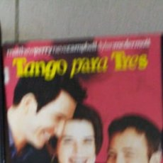 Cine: DVD TANGO PARA TRES. Lote 195347165