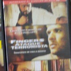 Cine: DVD FINGERS ATAQUE TERRORISTA. Lote 195347177