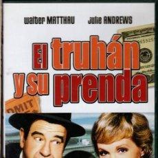 Cine: EL TRUHAN Y SU PRENDA DVD (MATTHAU + J. ANDREWS) CREÍA TENERLA EN EL BOTE...PERO NANAY . Lote 195347257