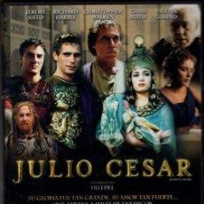 Cine: JULIO CÉSAR DVD (SERIE TV ALEMANA= 174 MINUT.) ..UNA CUIDADA SELECCIÓN DE ACTORES CON UN GUION NUEVO. Lote 195347380
