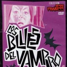 Cine: LOS BLUES DEL VAMPIRO DVD (JESS FRANCO ) ..SUEÑOS EROTICOS DE UNA CHICA CON UNA ESCULTURAL VAMPIRESA. Lote 195347420