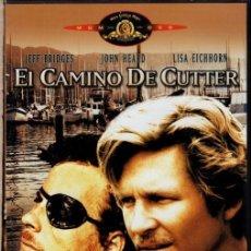 Cine: EL CAMINO DE CUTER DVD (JEFF BRIDGES) THRILLER DE DOS AMIGOS PARA DESMONTAR UNA TRAMA DE ASESINATO. Lote 195347705