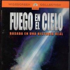 Cine: FUEGO EN EL CIELO DVD - ¿CREERÍAS EN ALIENÍGENAS...SI LE PASARA A UN AMIGO?. Lote 195350727