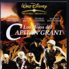 Cine: LOS HIJOS DEL CAPITAN GRANT DVD -UNA PELÍCULA LLENA DE SUSPENSE, EMOCIÓN Y AVENTURAS.. Lote 195353070