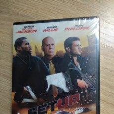 Cine: SET UP DVD NUEVO BRUCE WILLIS. Lote 195357396