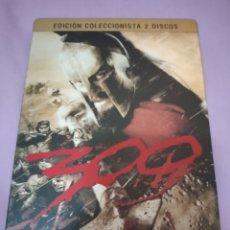 Cine: DVD. 300. EDICIÓN COLECCIONISTA CAJA METÁLICA 2 DVDS.. Lote 195357653