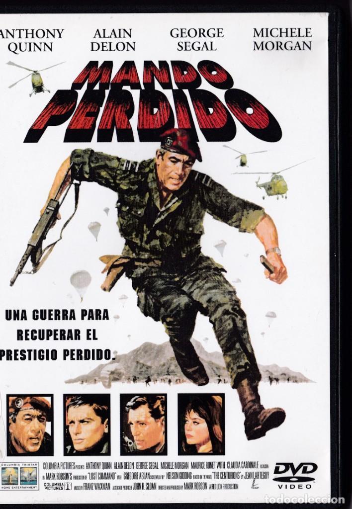 MANDO PERDIDO - DVD - ANTHONY QUINN / ALAIN DELON / GEORGE SEGAL / MICHELE MORGAN (Cine - Películas - DVD)