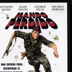 Cine: MANDO PERDIDO - DVD - ANTHONY QUINN / ALAIN DELON / GEORGE SEGAL / MICHELE MORGAN. Lote 195369230