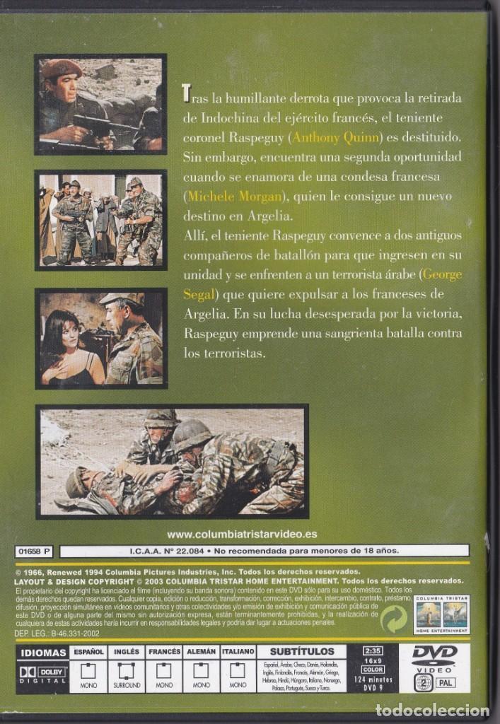 Cine: Mando Perdido - DVD - Anthony Quinn / Alain Delon / George Segal / Michele Morgan - Foto 2 - 195369230