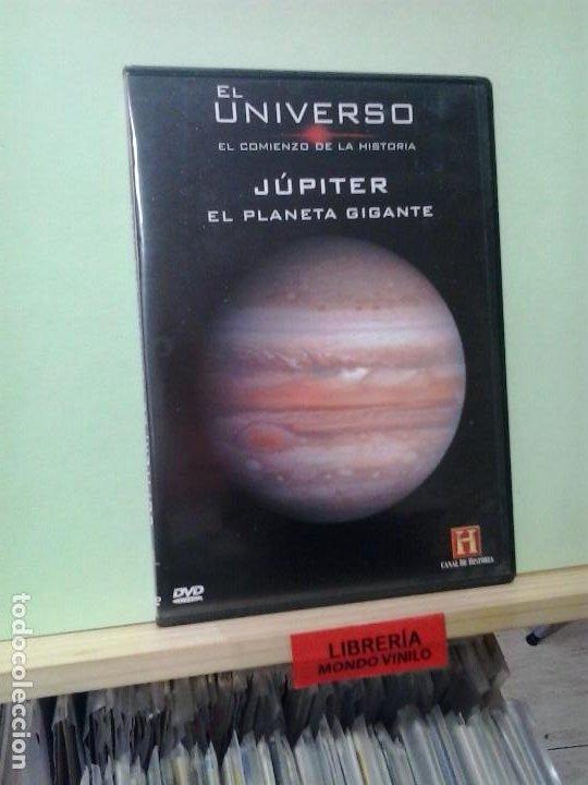 LMV - JÚPITER, EL PLANETA GIGANTE -- DVD (Cine - Películas - DVD)