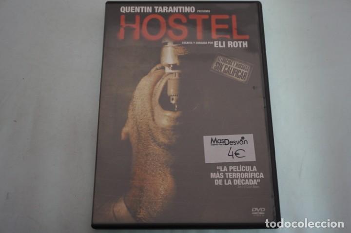 (3-B5) - 1 X DVD / HOSTEL - QUENTIN TARANTINO / ELI ROTH (Cine - Películas - DVD)
