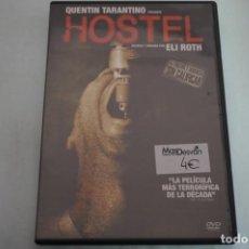 Cine: (3-B5) - 1 X DVD / HOSTEL - QUENTIN TARANTINO / ELI ROTH. Lote 195377765