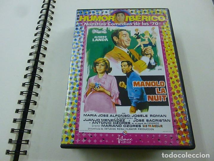 MANOLO LA NUIT - MARIANO OZORES - ALFREDO LANDA - DVD -N (Cine - Películas - DVD)