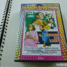 Cine: MANOLO LA NUIT - MARIANO OZORES - ALFREDO LANDA - DVD -N. Lote 195377870