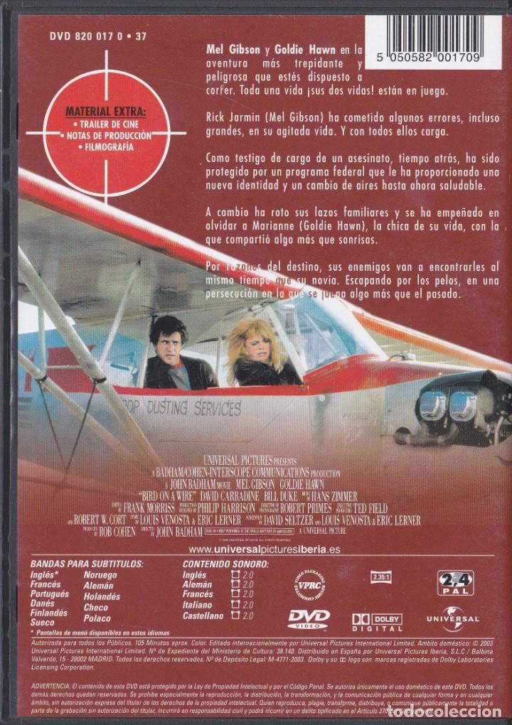 Cine: Dos Pájaros a Tiro - Mel Gibson / Goldie Hawn - DVD - Foto 2 - 195378282