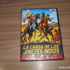 Cine: LA CARGA DE LOS JINETES INDIOS DVD DE GORDON DOUGLAS GUY MADISON NUEVA PRECINTADA. Lote 293754898