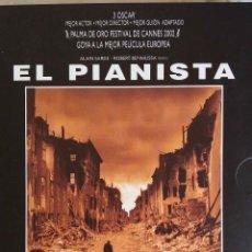Cine: EL PIANISTA. ROMAN POLANSKI. EDICION ESPECIAL 2 DVD + CD AUDIO.. Lote 195386256