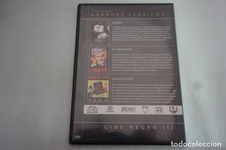 Cine: (5-B3) - 1 X DVD / 3 PELICULAS: ARGEL, EL GRAN TIPO, WHISTLE STOP - Foto 2 - 195386363