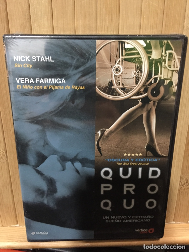 QUID PRO QUO [ DVD ] - PRECINTADO - (Cine - Películas - DVD)