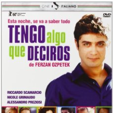 Cine: TENGO ALGO QUE DECIROS - MINE VAGANTI (LOOSE CANNONS) (NUEVO). Lote 195393303