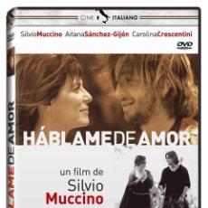 Cine: HÁBLAME DE AMOR - PARLAMI D'AMORE (NUEVO). Lote 195393698