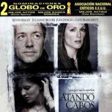 Cine: ATANDO CABOS - THE SHIPPING NEWS (NUEVO). Lote 195396543
