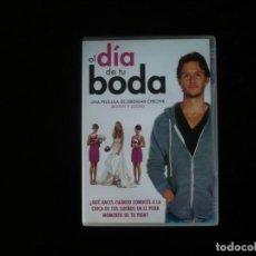 Cine: EL DIA DE TU BODA - DVD CASI COMO NUEVO. Lote 195413063